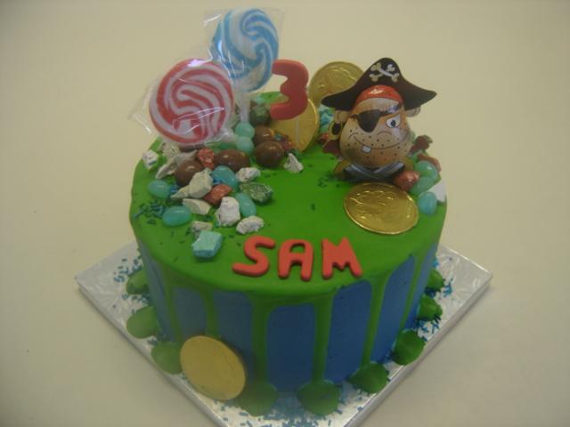 Birthday Pirate