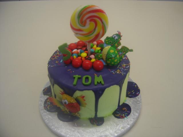 Dragon & Bird Cake