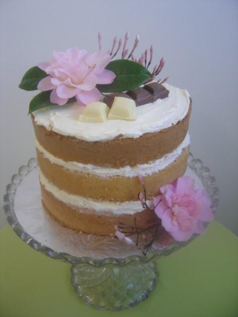 Naked Cake Pink Treat