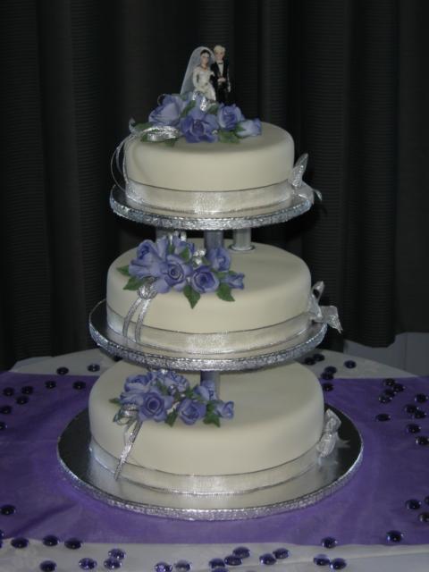 Purple 3 tier