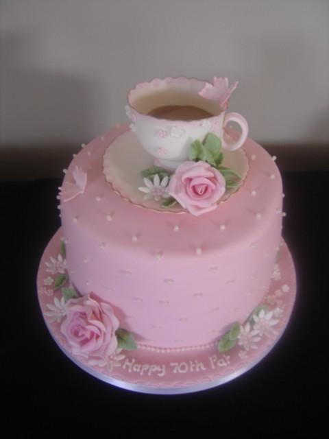 tea party cake