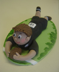 Rugby-Cake