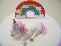 Unicorn-topper